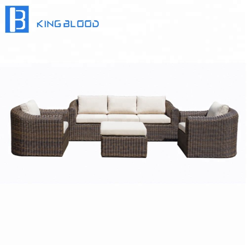 Best price rattan sofa sets wicker outdoor furniture for sea beach