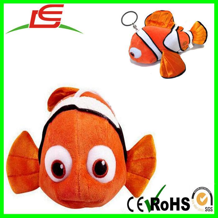 В поисках Немо 2 «в поисках Дори» вещи Плюшевые игрушки Куклы подвеска Клоун Брелок