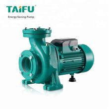 China Taifu brand good quality big 7.5 kw 5hp 6hp electrical water pump