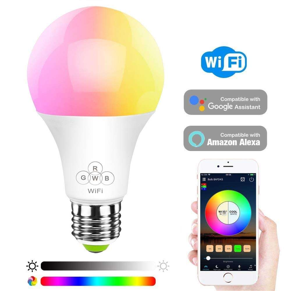 SAA Approval E27 9W Smart Wireless Wifi LED Light Bulb / Led Bulb Lights