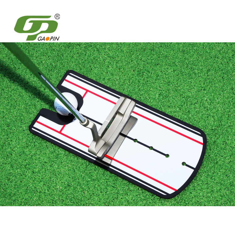 Fashionable promotional 14.5x31cm golf stick machine alignment
