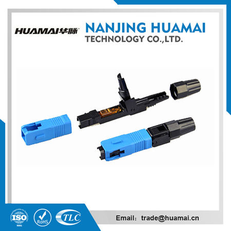 HM-1998-09 Manufacture sc fast connector ,sc/apc fast connector factory,fiber optic connector supplier