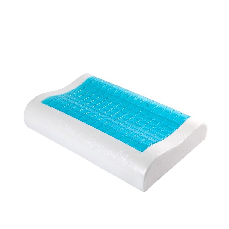 Summer Cool Ice Silicone Beads Gel Pad Silicone Gel Sleeping Memory Foam Pillow