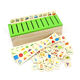 FQ brand new wholesale hot sell educational puzzle toy Knowledge shape box game toy wooden kids educational toy