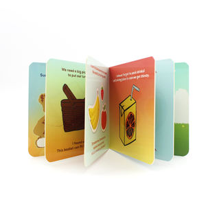 2020 Hot book publishers in china english book for kid children board book printing