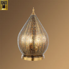 Exquisite decorative industrial custom printed size arabian vintage gold antique brass fancy floor lamp