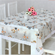 Printed plastic tablecloth rolls,wedding polyester tablecloth,dining round table protective covers