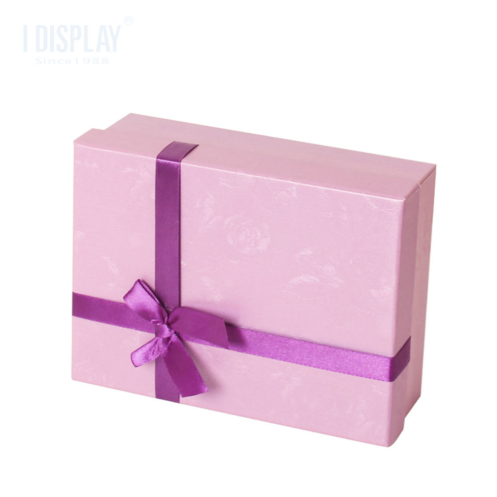 Hot sale new design chocolate gift packing box all kinds of product packaging boxes with ribbon