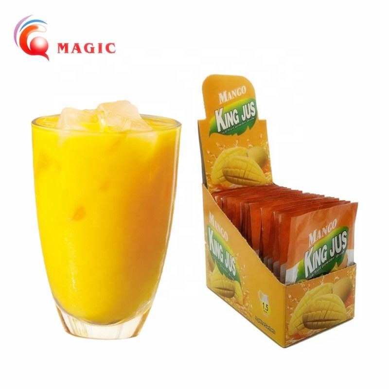 king jus mango fruit juice concentrate drink powder