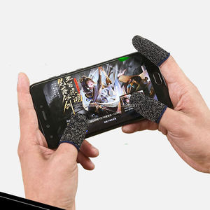 for pubg mobile gaming gloves touch screen sleeve anti-sweat finger sets finger tips
