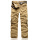 Men's Cargo Pants With Many Pockets Wholesale Tactical Cargo Work Trousers Athletic Works Pants