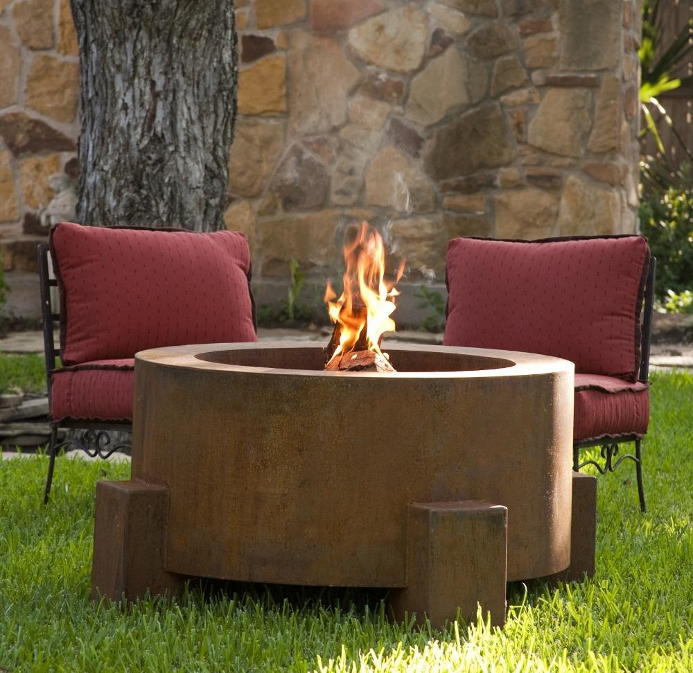 Corten steel decoration product for garden and home