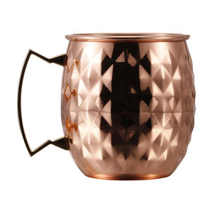 Hiigh Quality Manufacturer Moscow Mule Copper Mug For Vodka And Moscow Mule