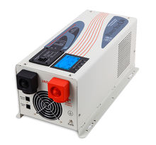 2000w 3000w 12v 24v 48v w7 with battery charger power star lw inverter