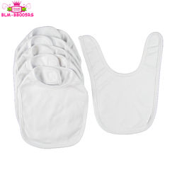 2018 High quality baby bibs/ Recyclable baby bibs/baby bibs plain white