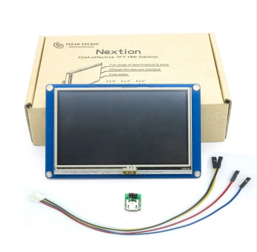 Nextion 5.0 HMI Intelligente TFT Touch Display NX8048T050 5 inch LCD Smart USART UART Seriële voor Raspberry Pi