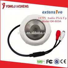 long distance CCTV Audio Microphone with Dolby Noise Reduction for CCTV Camera