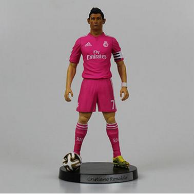 Brand New Cristiano Ronaldo #7 Real Madrid Soccer PVC //Bobblehead Figure 18cm