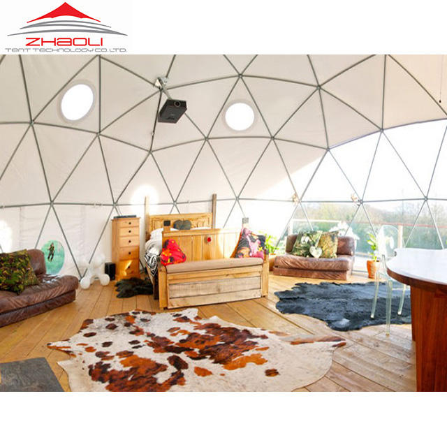 15m Geodesic Dome Half Sphere Tent For Party Event
