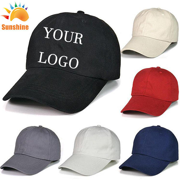 Election campaign baseball caps and hats with custom logo printing unisex