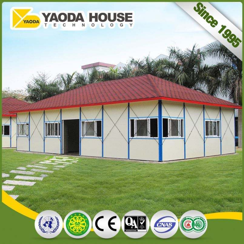 Low Cost Easy To Build Small Double Storey Houses Designs Per Unit Four Slope Architectural Top Roof Movable Prefab Modular Kit