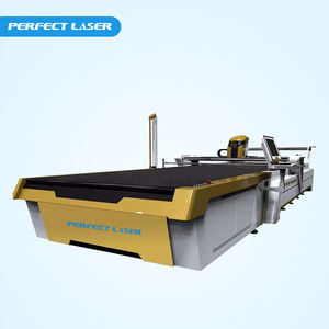CNC Multi-layers Fabric Auto Cutter Machine With CAD/CAM Software