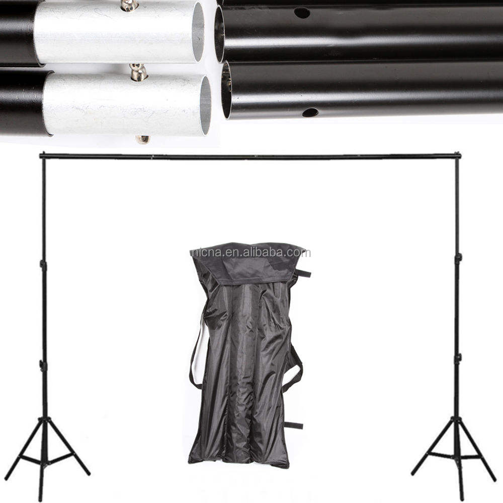 10Ft Adjustable Photo Photography Backdrop Crossbar Background Support Stand Kit