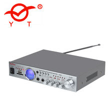 mp3 audio preamplifier YT-806 with microphone support fm/sd/usb