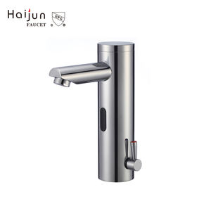 High Quality cUPC Auto Stop Sensor Automatic Wash Basin Mixer Faucet