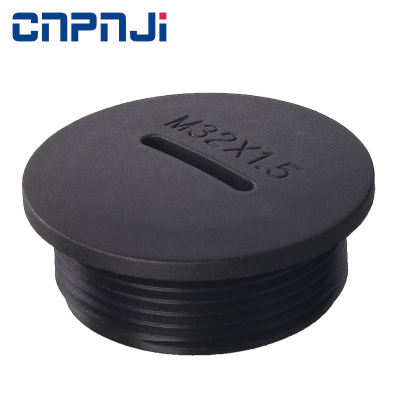 Metric Thread Type High Performance IP68-10 Nylon Sealing Screw Cover Blind Plugs with Screw Thread