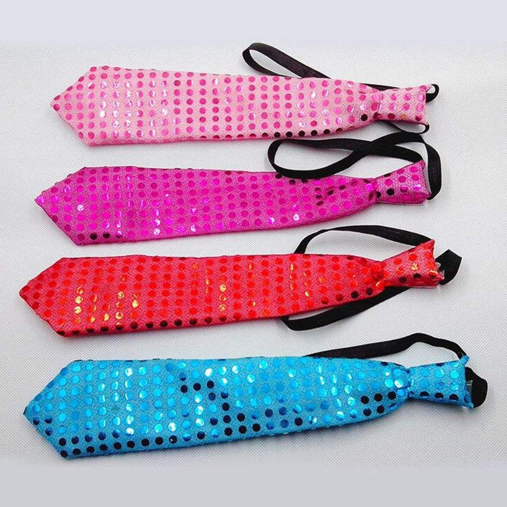 Hot Selling Light Up Bow Neck Tie LED Mens Lights Sequins Bow Tie Party Supply SD495