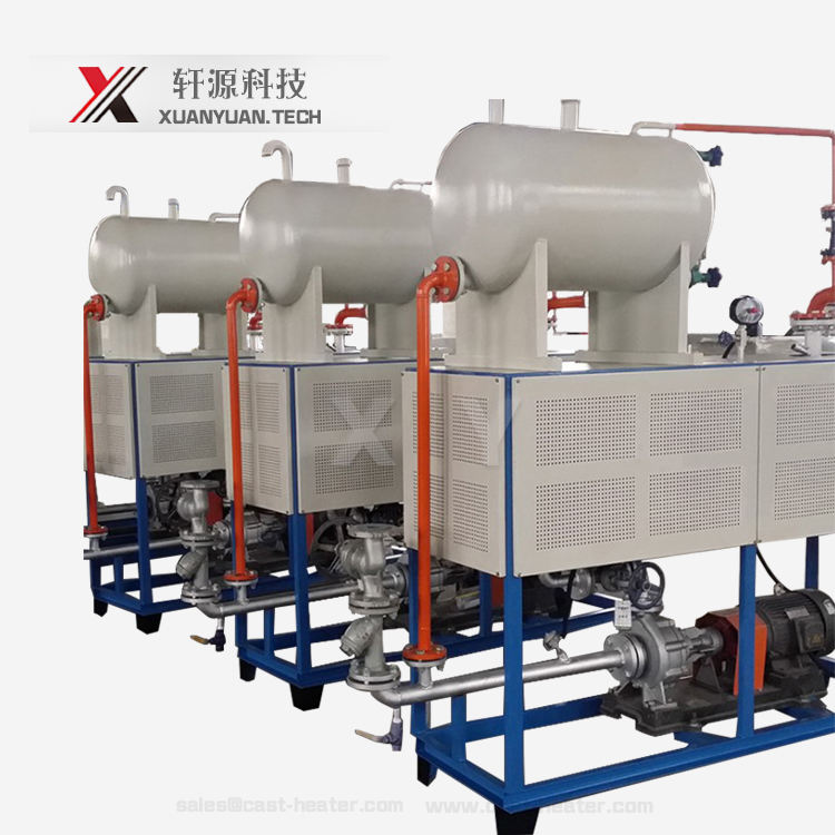 XY electric thermic fluid furnace oil heater