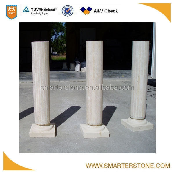china good price hollow round column and column design pillar