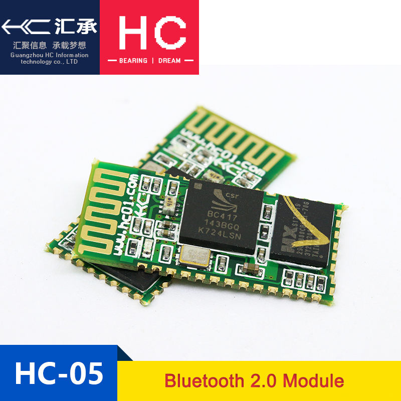 HC-05 Bluetooth Module with BQB, FCC, ROHS, IC certification