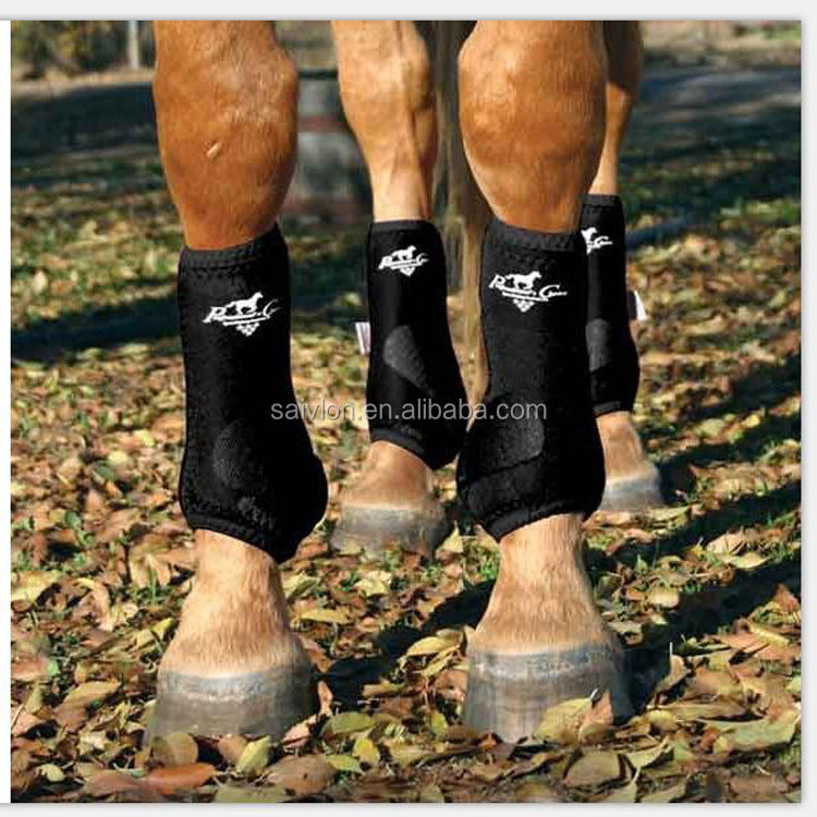 Horse protection tendon boots