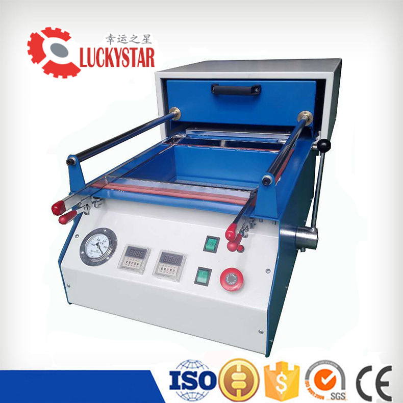 Hot sale china small vacuum thermoforming machine