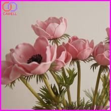 PU natural touch artificial anemone flowers