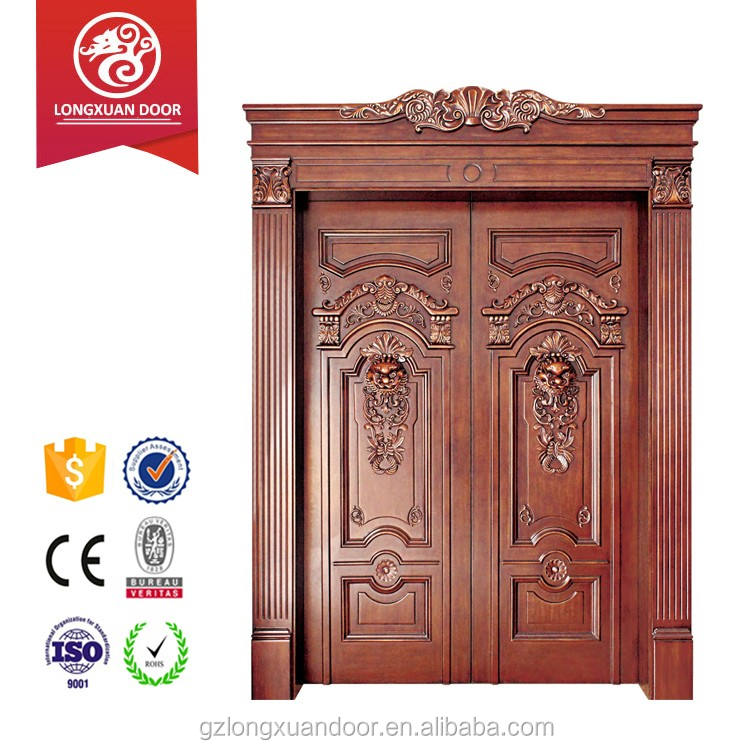 Nigeria Main Entrance Exterior Cheap Security Door Design