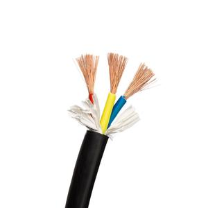 3 core cable 1.5mm 2.5mm 4mm 유연한 electrical cable price 및 shielded 나 비 차폐 나선형 힘 flat 나 fabric 선