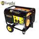 LONFA 100% Copper Wire Alternator 2.5kva 2.5kw JD Gasoline Generator with wheels optional