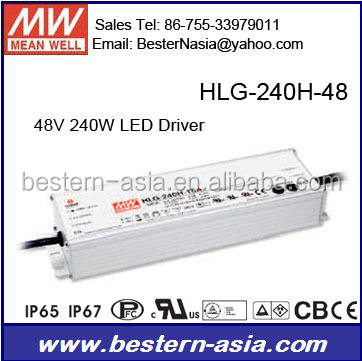Meanwell HLG-240H-48A LED 48 v power supply modul HLG-240H-48B
