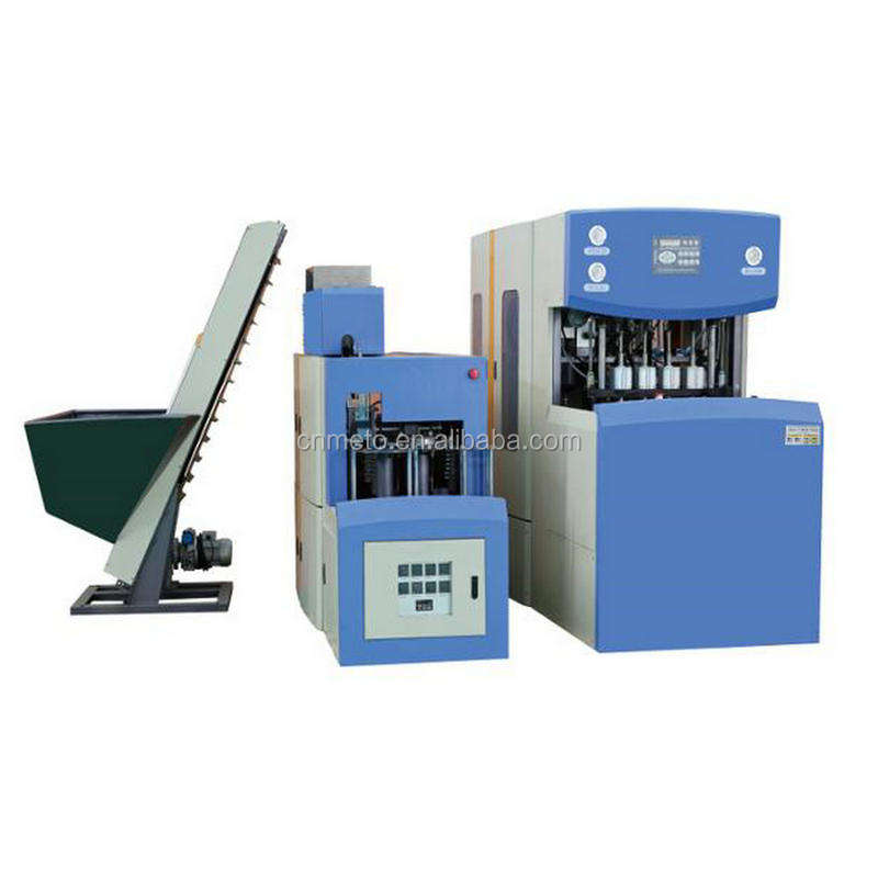 4 cavity semi blow molding machine for containers