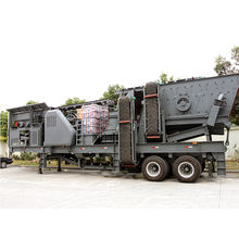 new designed low investment portable cone crusher crushing plant