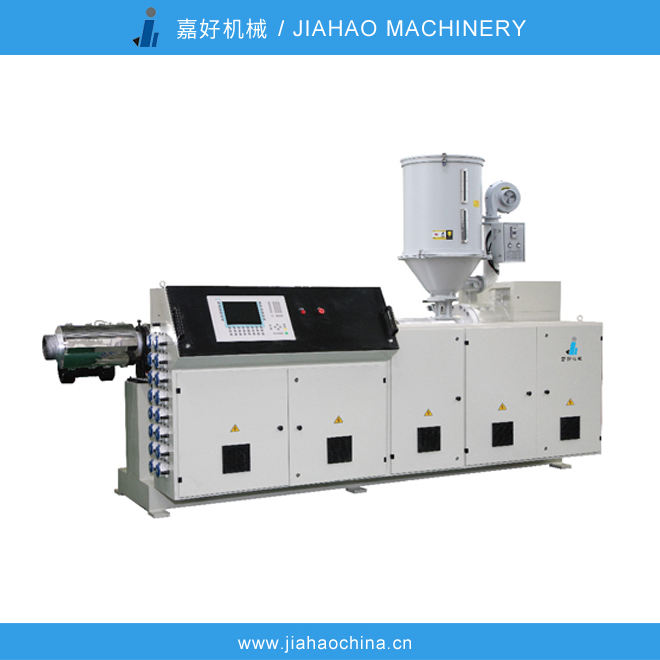 JiaHao machinery single screw extruder,plastic pipe extrusion equipment,durability and easy maintenance,used in PVC,PP,PS,ABS