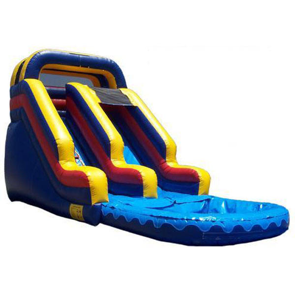 High multilane Adults And Children Inflatable water Slide for sale