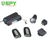 Spy pke passive keyless entry remote engine start stop push start button smart car alarm system