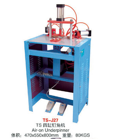 High quality Competitive Underpinner/COST-SAVING Durable Frame joining machine/ suit for small factory use /V-Nailer