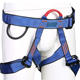 Factory supply rock climbing outdoor half body safety harness