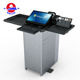 China Factory Teaching Pulpit Design Multimedia Digital Smart Podium Lectern