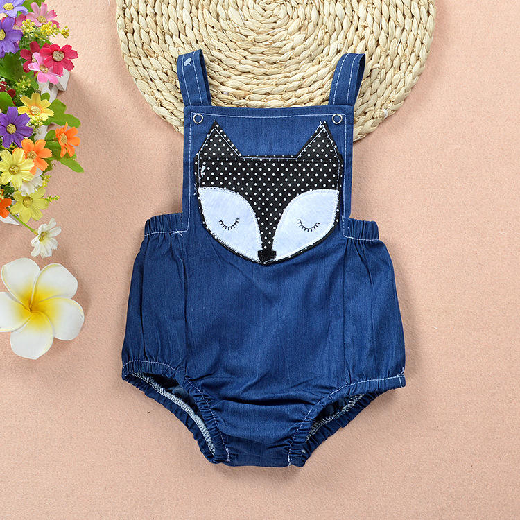Sommer Mode Neue Kinder Denim Body Strampler Jeans Overall